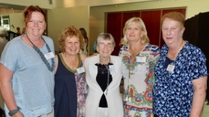Dawn with EWHA Members: Ros McCully, Jenni Eaton, Sue Vernes and Noelle Weatherley