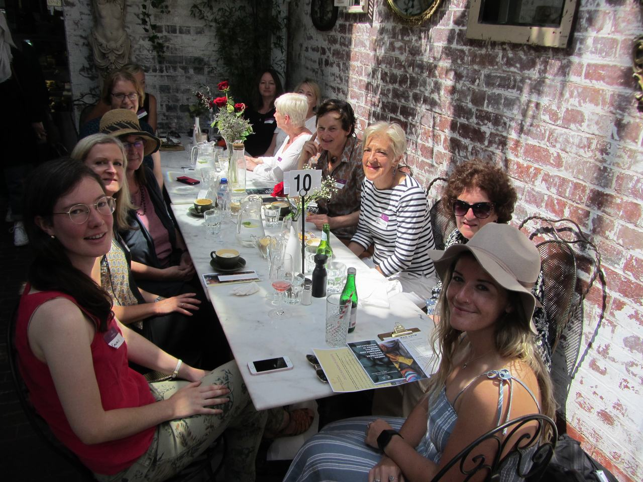 Event Highlight: Reconnect Lunch, Old Man Drew Cafe